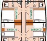 Floor plan Deryria Deniz