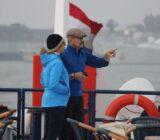 People aboard ship