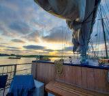 Sail & Bike sunset clouds