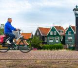 Cyclist on Marken