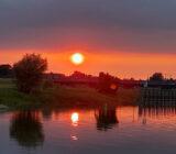 sunset Veluwe en Hanzesteden