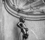 Brussels Manneken Pis statue