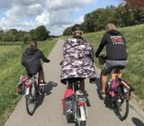 Cycling with the tourleader