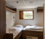 De Nassau twin cabin lower deck front