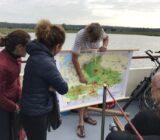 Lena Maria tourleader explains route