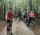 Naarder forest cycling