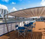 Olympia exterior deck