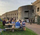 relaxing at Fort by Spijkerboor