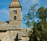 Burgundy church