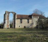 Burgundy church ruins