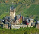 Mosel Cochem Mosel view castle