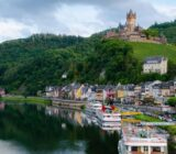 Mosel Cochem river view