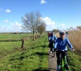 biking in Holland