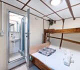 Double cabin with third bed