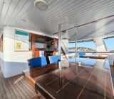Sitting area on deck