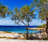 Aegina beach