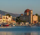 Aegina sunset