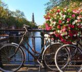 Amsterdam Antwerp Amsterdam bike and bridge