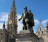Amsterdam Antwerp Antwerp statue