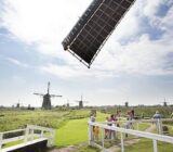 Amsterdam Antwerp Kinderdijk windmills