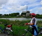 Amsterdam Antwerp cyclist