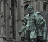 Bruges Antwerp Antwerp Grote Markt statue