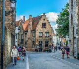 Bruges Antwerp Bruges street