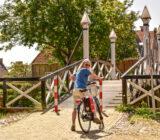 Hindeloopen cyclist bridge