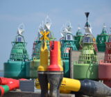 Waddenzee and Friesland staff Sandra Terschelling buoys