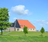 Waddenzee and Friesland staff Sandra polder landscape farmhouse