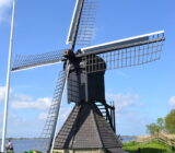 Waddenzee and Friesland staff Sandra windmill Frisian lakes