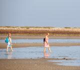 Barefoot on Terschelling sands