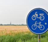 Bike signs in Friesland