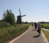 Netherlands Taste of Holland Cyclists windmill