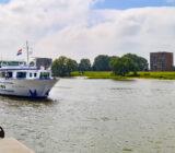 The Poseidon arriving in Arnhem
