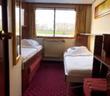 Twin cabin on lower deck