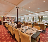 Fine dining in our spacious restaurant