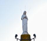 Volendam statue of Mary